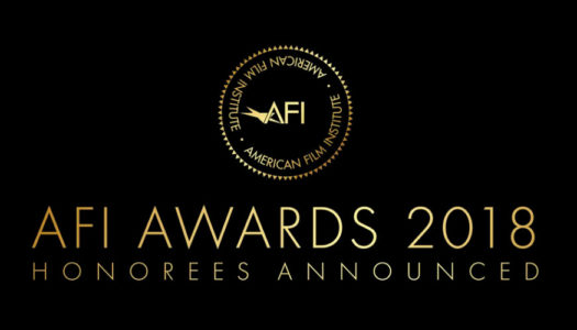 AFI anuncia sua lista de 2018